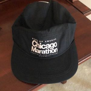 Black 2017 Chicago Marathon Hat